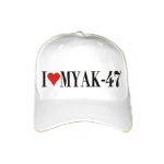 I Love My AK-47 Cool Cap