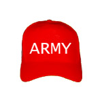 ARMY Cap in red