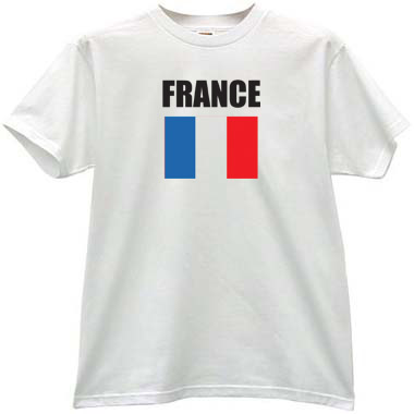 how to say t shirt in french