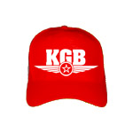 KGB New Cool Cap in red