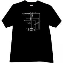 7.62×39mm AK-47 rifle cartridge Weapon T-shirt in black