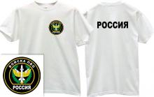 Air Defence Forces Russian T-shirt in white
