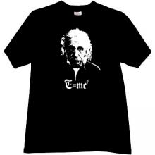 Albert Einstein - MC2 - Cool T-shirt in black