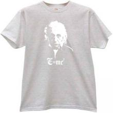 Albert Einstein - MC2 - Cool T-shirt in gray