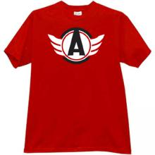 Avtomobilist Hockey Club Russian T-shirt in white