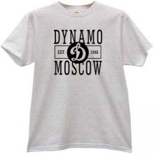 Dynamo Moscow Est. 1946 Hockey Club T-shirt