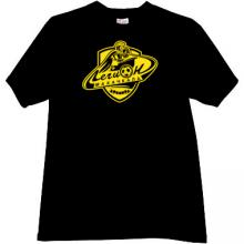 Legion-Dynamo Makhachkala Football Club T-shirt in black