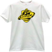 Legion-Dynamo Makhachkala Football Club T-shirt in white