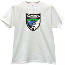 Football Club Sibir Novosibirsk Russian T-shirt
