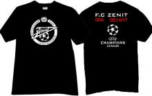 FC Zenit UEFA T-shirt in black