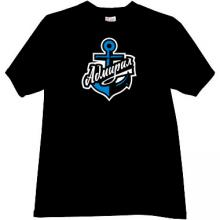 Hockey Club Admiral Vladivostok Russian t-shirt in black