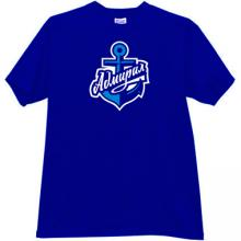 Hockey Club Admiral Vladivostok Russian t-shirt in blue