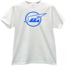 IL (ILYUSHIN Aviation Complex) Cool Russian T-shirt in white