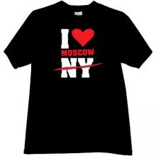 I love Moscow T-shirt in black