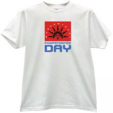Independence Day Moscow 2001 EMO Russian T-shirt