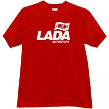 LADA AUTOSPORT Cool T-shirt in red