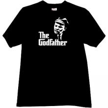 Lenin Godfather Funny T-shirt in black