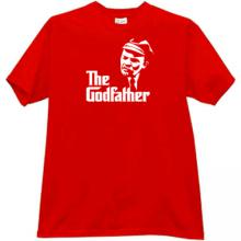 Lenin Godfather Funny T-shirt in red