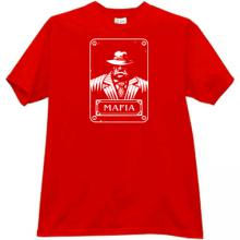 New Mafia Gangster T-shirt in red