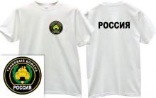 Panzer Forces Russian Army T-shirt in white