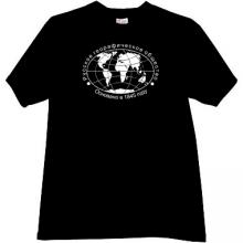Russian Geographical Society Cool Russian T-shirt in black