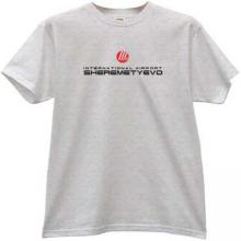 Sheremetyevo International airport T-shirt in gray