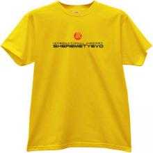 Sheremetyevo International airport T-shirt in yellow