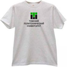 Tomsk Polytechnic University Russian T-shirt in gray