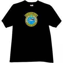 Ukrainian submarine Zaporizhzhia Army T-shirt in black