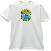 Ukrainian submarine Zaporizhzhia Army T-shirt in white