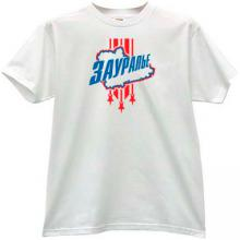 Zauralie Kurgan Russian Hockey Club T-shirt in white