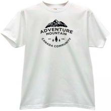 Adventure Montain Canada Community T-shirt