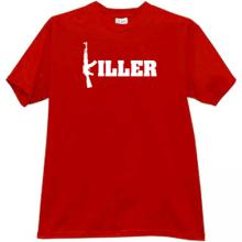 Ak47 Killer T-shirt in red