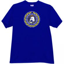 Arctic Border Guards T Shirt in blue - Russian Soviet Army
