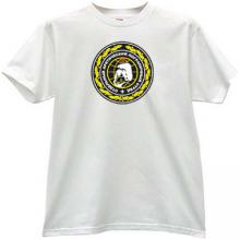 Arctic Border Guards T Shirt in white - Russian Soviet Army
