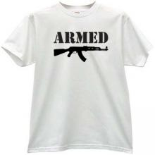 ARMED Kalashnikov T-shirt in white