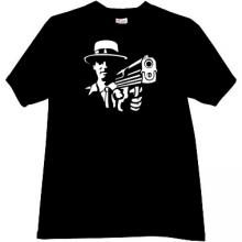 At Gunpoint Mafia Retro T-shirt