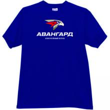 Hockey Club Avangard Omsk Russian T-shirt in blue