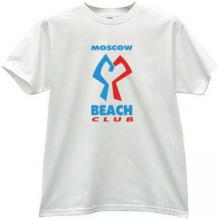 MOSCOW BEACH CLUB Cool T-shirt