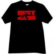 Best Russian - AK47 - AK-47 - Cool Russian T-shirt in black