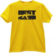 Best Russian - AK47 - AK-47 - Cool Russian T-shirt in yellow