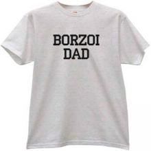 Borzoi Dad Cool T-shirt
