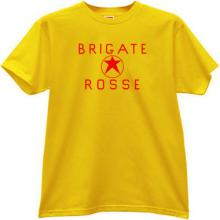 Brigate Rosse T-shirt in yellow