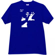 Bruce Lee T-shirt in blue