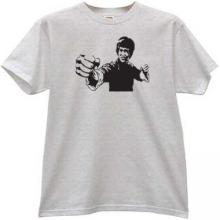 Bruce Lee T-shirt in gray