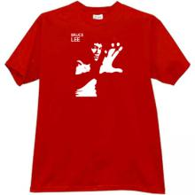Bruce Lee T-shirt in red