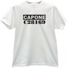 Capone Mafia t-shirt in white