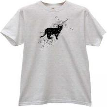 Cat Grunge Animal T-shirt