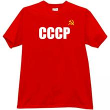 CCCP T-shirt imp in red