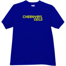 CHERNOBYL CHILD T-shirt in blue